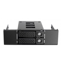 12G-With HDD Tray,1 x slim bay for 2* 15mm SSD on 5.25bay bracket