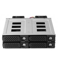 "5.25"" Drive Bay Width 1 x 5.25bay for 4 x 2.5"" NVMe"