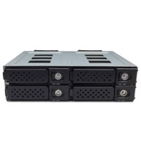 "12G-With HDD Tray,SFF-8643 Interface, 1 x 5.25 Bay for 4/6/8 2.5"" SSD/HDD"